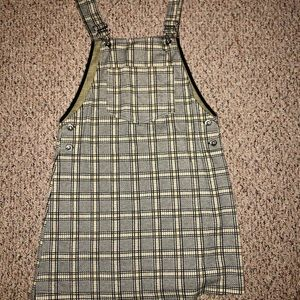 Plaid Dress Over-Lay (short)